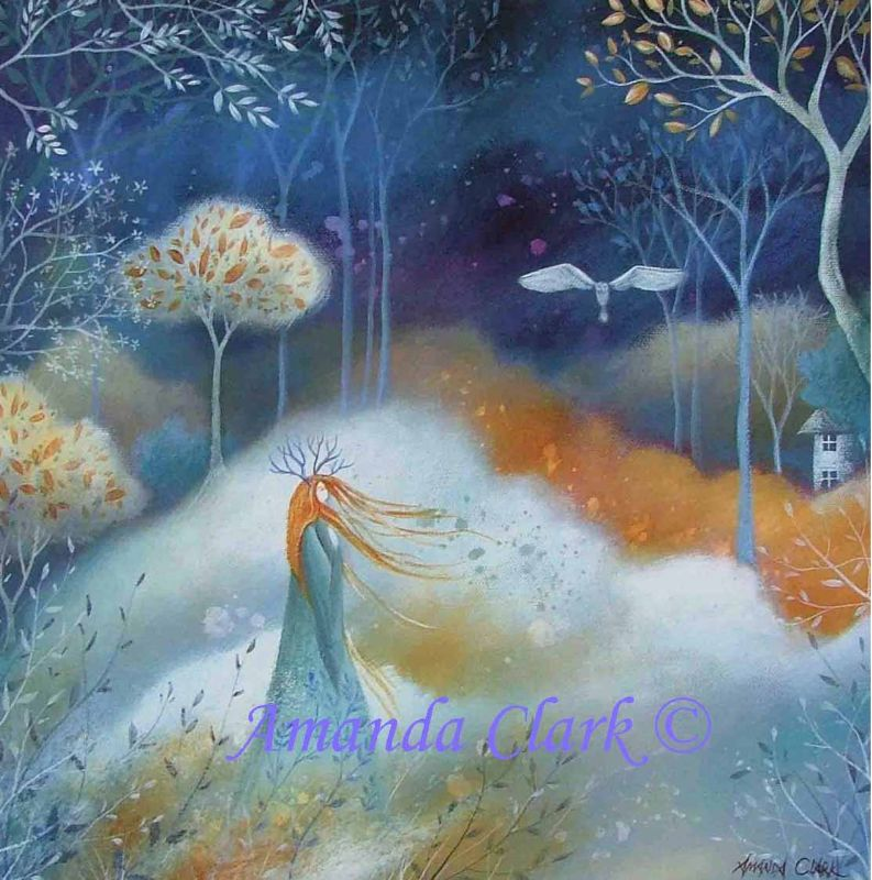Amber and Crystal - Amanda Clark Artist