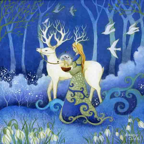 Bringer of Light - Amanda Clark Artist