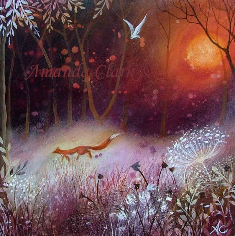 By the Red Moon - Amanda Clark Artist