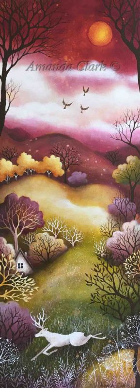 Meadow and Sky - Amanda Clark Artist