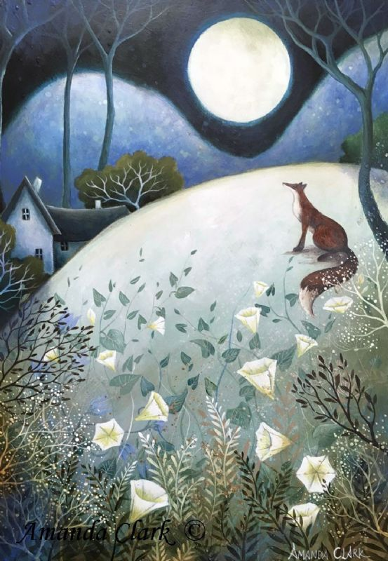 The Big Full Moon - Amanda Clark Artist