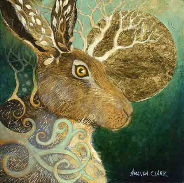 The Brown Hare - Amanda Clark Artist