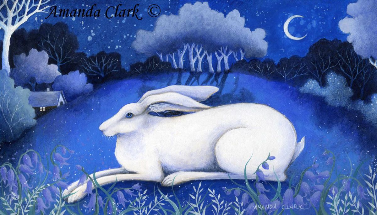 Bluebells and Moonbeams - Amanda Clark Artist