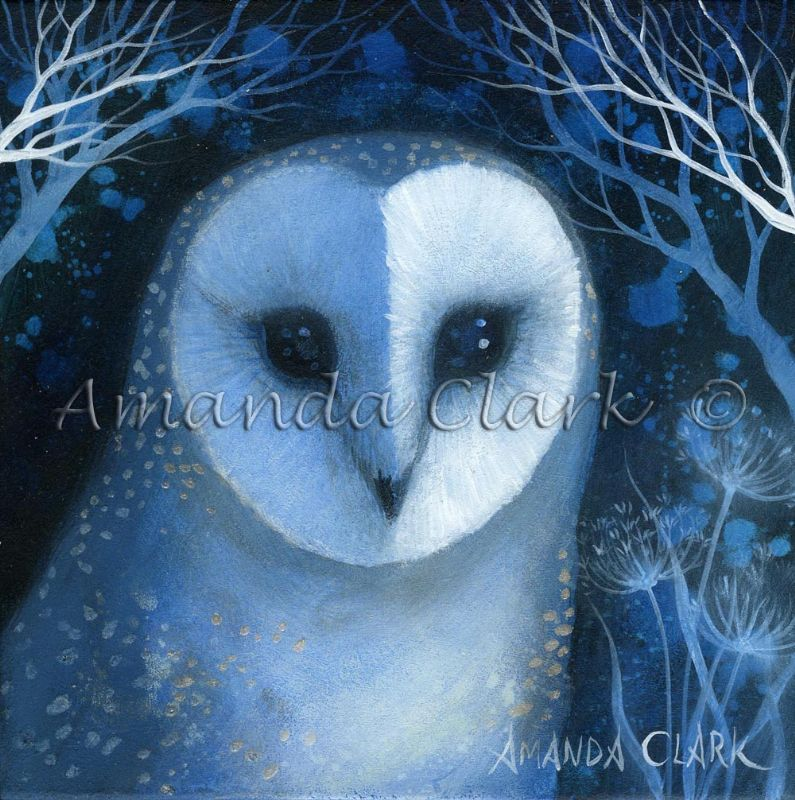 Deep in the Night - Amanda Clark Artist