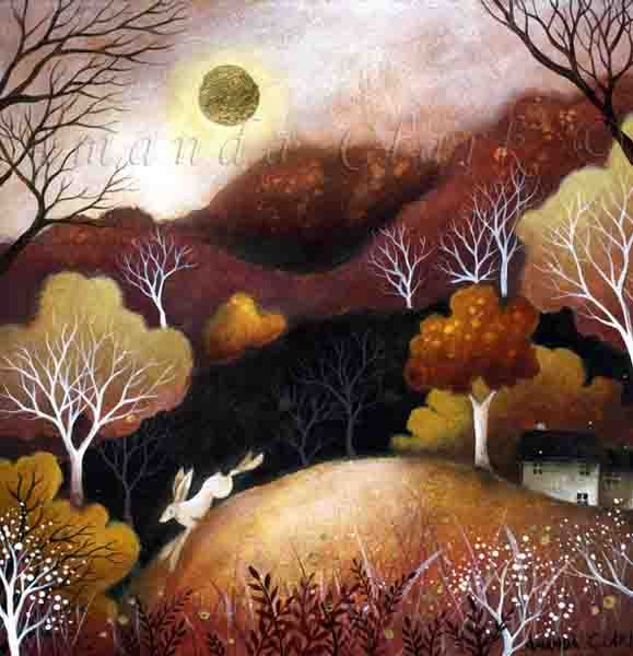 Fields of Amber - Amanda Clark Artist