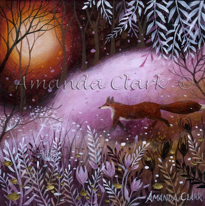 The Fox's Meadow - Amanda Clark Artist