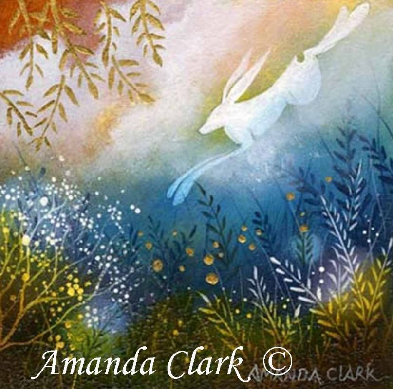 Miniature paintings by Amanda Clark