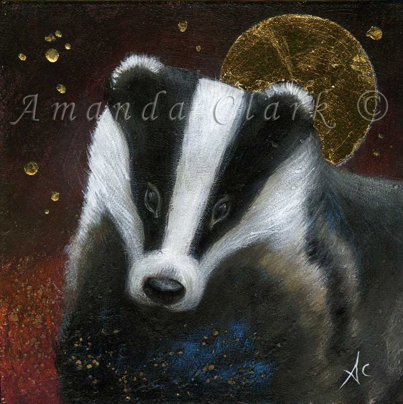 The Badger - Amanda Clark Artist