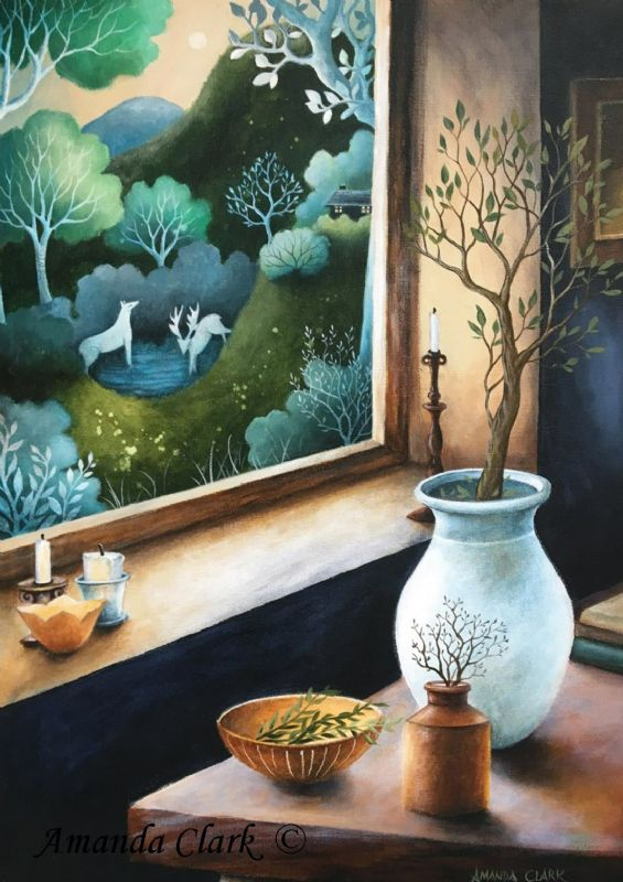 View to a Dream - Amanda Clark Artist